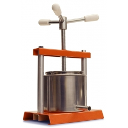 OLIVE PASTE PRESS - PRESSES OIL FROM OLIVE PASTE PRODUCED WITH THE D2 CAP